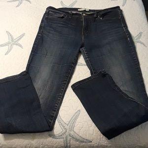 Levi's 505 Straight Leg Jean's 12 Long